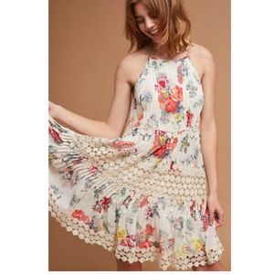ANTHROPOLOGIE KALILA FLORAL LACE DRESS -RANNA GILL